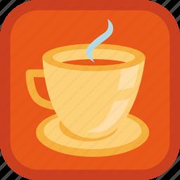 badge, coffee, cup, gamification, hot, mug, tea icon