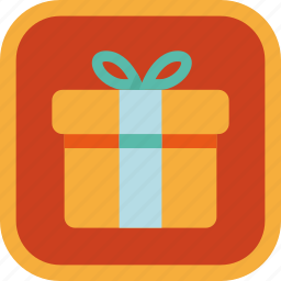 badge, box, gamification, gift, present icon