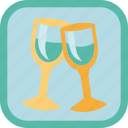 alcohol, badge, celebrate, gamification, glass, wine icon