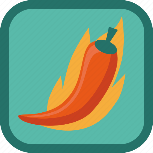 badge, gamification, hot, pepper icon