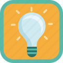 award, badge, bulb, electric, gamification, idea, lamp, light, lightning icon