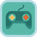badge, game, gamification, joystick, play icon