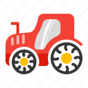 agricultural, agrimotor, machinery, tractor, truck icon