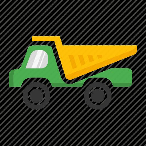 bulk, carry, dumper, heavy, transport icon