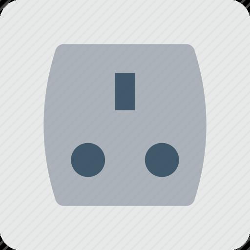 electrical outlet, electricity, plug socket, power socket, socket icon