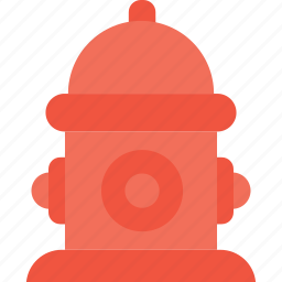 faucet, fire hose, fire hydrant, fireplug, hydrant icon