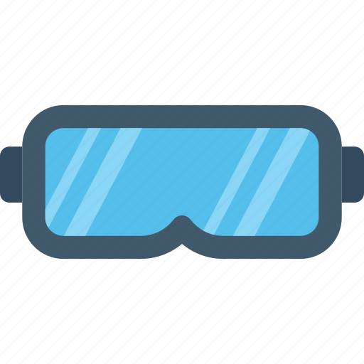 goggles, safety glasses, vision, welding glasses, welding goggles icon