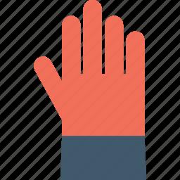 construction glove, glove, hand glove, leather glove, work glove icon