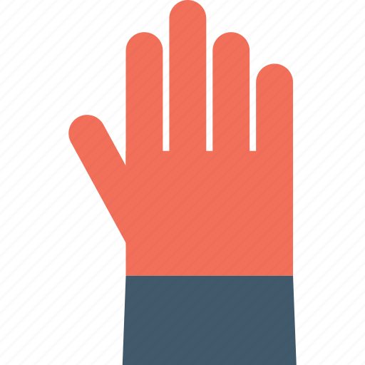 construction glove, glove, hand glove, leather glove, work glove icon
