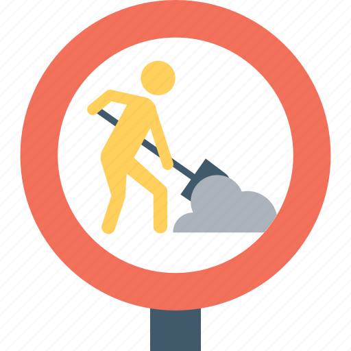 beware, construction sign, road sign, under construction, warning icon