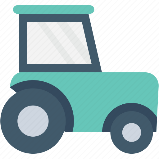 construction machine, industrial transport, pressure tractor, road building, road roller icon