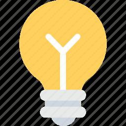 bulb, electrical bulb, light bulb, luminaire icon