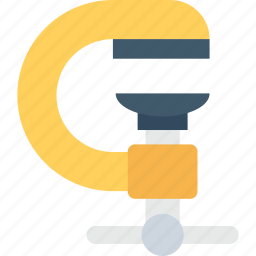 auger, construction equipment, drilling, gimlet machine, hand tool icon
