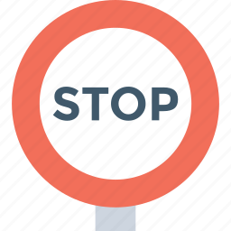 danger sign, stop sign, traffic regulatory, traffic sign, warning symbol icon