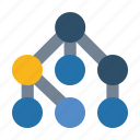 connections, social, structure icon