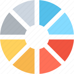 circle, color selection, colors, design, swatches icon