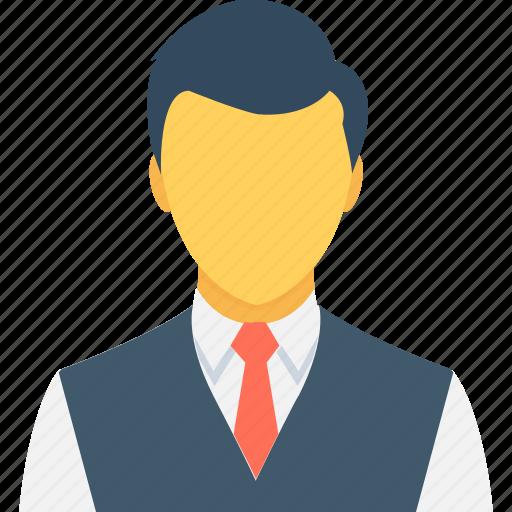 businessman, manager, person, profile picture, user icon