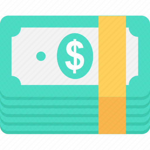 banknotes, bills, currency, dollars, money icon