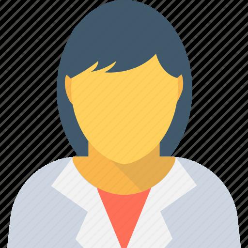 female, female avatar, profile picture, user icon