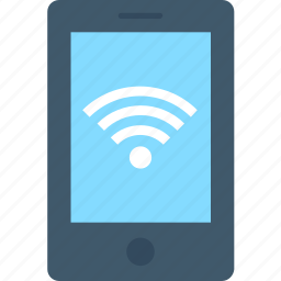 mobile, mobile wifi, smartphone, wifi, wifi connection icon