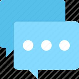 chat bubble, chatting, conversation, speech bubble, talk icon