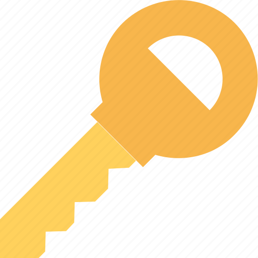 key, lock key, locked, password, security symbol icon