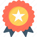 award badge, badge, premium, quality, ribbon icon