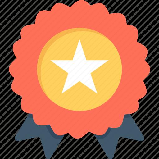 award badge, badge, premium, quality, ribbon icon