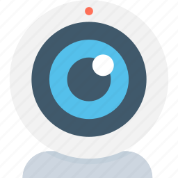 camera, video call, video cam, video chat, webcam icon
