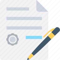 article, content writing, notes, pen, writing icon