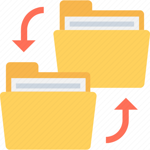 archive, backups, copy folder, data storage, file sharing icon