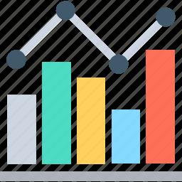 analysis, analytics, bar graph, business chart, statistics icon