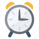 alarm, bell, clock, ring, time, timer, watch icon