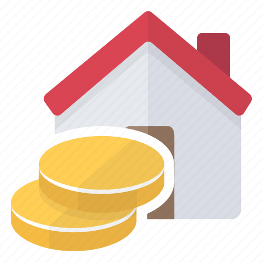 asset, house, investment, loan, money icon