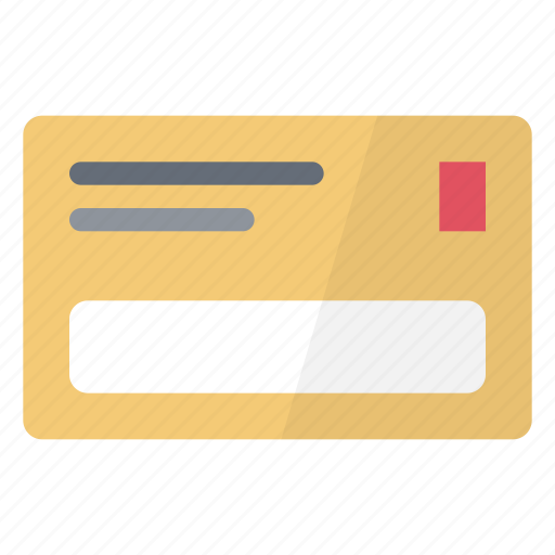 bill, details, electronic, expense, mail, money, pay icon