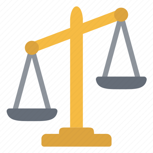 balance, court, institution, justice icon