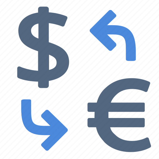 Currency, conversion, exchange icon