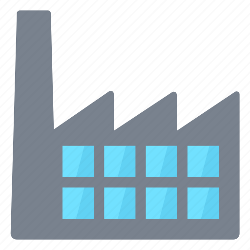 Build, factory, plant icon - Download on Iconfinder
