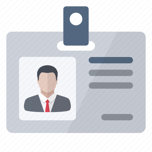 card, id, identity, information, personal icon