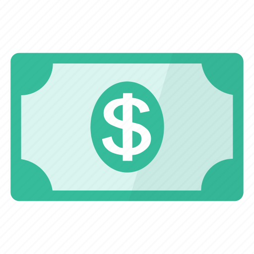 bankbill, banknote, bill, currency, dollar, money icon