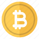 bitcoin, currency, logo, money, virtual icon