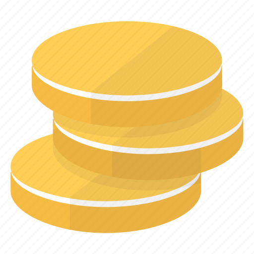 coins, currency, money, savings icon