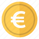 coin, currency, euro, europe, money icon