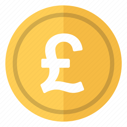 coin, currency, england, money, pound icon