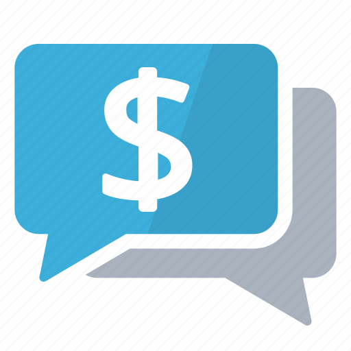 discussion, money, negotiation, salary, wages icon