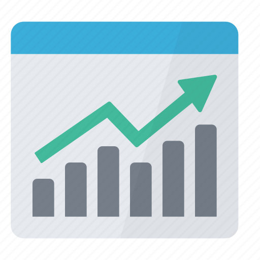 chart, graph, graphic, report, summary icon