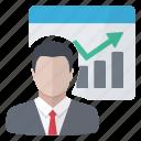 chart, graphics, report, vendor icon