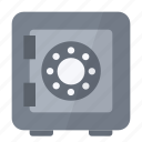 folders, locked, money, protected, safe, security icon
