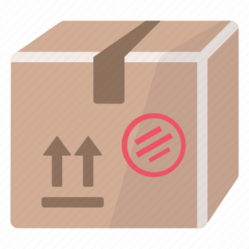 box, cardboard, delivery, logistic, package, product, shipment icon