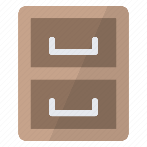 archive, data, documents, drawer, files, folders, storage icon
